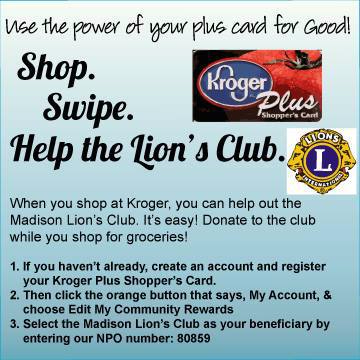 Help the Lions Club of Madison